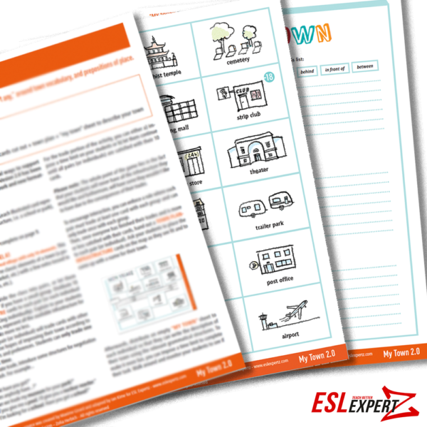esl-expertz-esl-english-teaching-resources-for-teachers-conversation-game-activity-town-places-city-A2-B1-B2