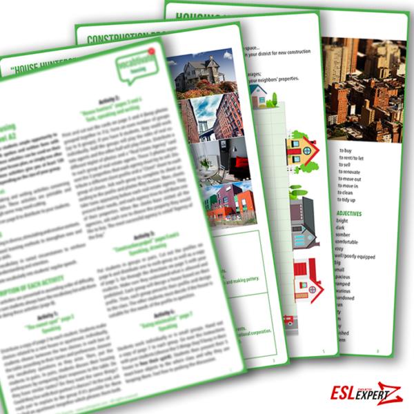 esl-expertz-esl-english-teaching-resources-for-teachers-vocabulary-housing-activity-A2-B1-B2