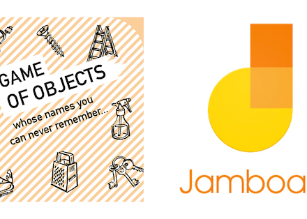 Game of Objects with Google Jamboard