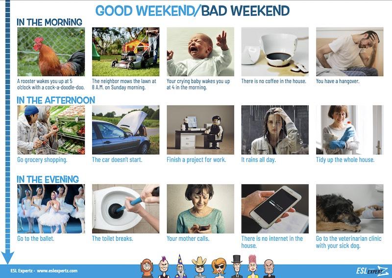 Good Weekend / Bad Weekend: